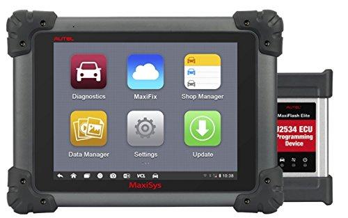Autel Maxisys Pro MS908P Kfz-Scanner mit ECU-Codierung und J2534 Umprogrammierung, Bluetooth/WLAN und 1 Jahr Update