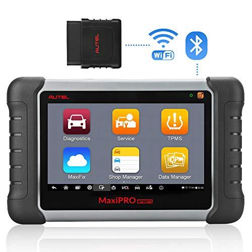 Autel OBD2 Diagnosegerät Scanner MaxiPRO MP808TS Diagnostic Tool kompletter TPMS Service und diagnostische Funktionen mit WiFi und Bluetooth