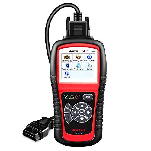 Autel AutoLink AL519 Codeleser OBD2 Diagnosegerät Auto Motor Fehler Trouble Scan Tool löschen motorkontrollleuchte Scanner Reader