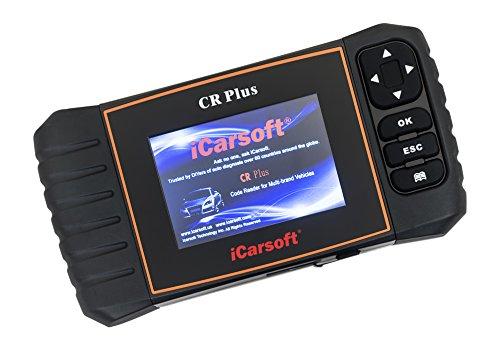 iCarsoft Universal Diagnosegerät der 2ten Generation für Fahrzeuge verschiedener Marken CR Plus