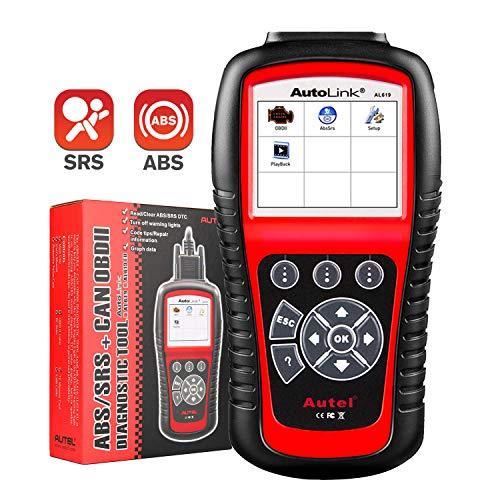 Autel Autolink AL619 Diagnosewerkzeug für OBDII, ABS und SRS