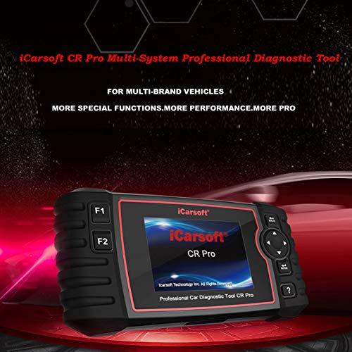 iCarsoft CR Pro für 40 Fahrzeugmarken