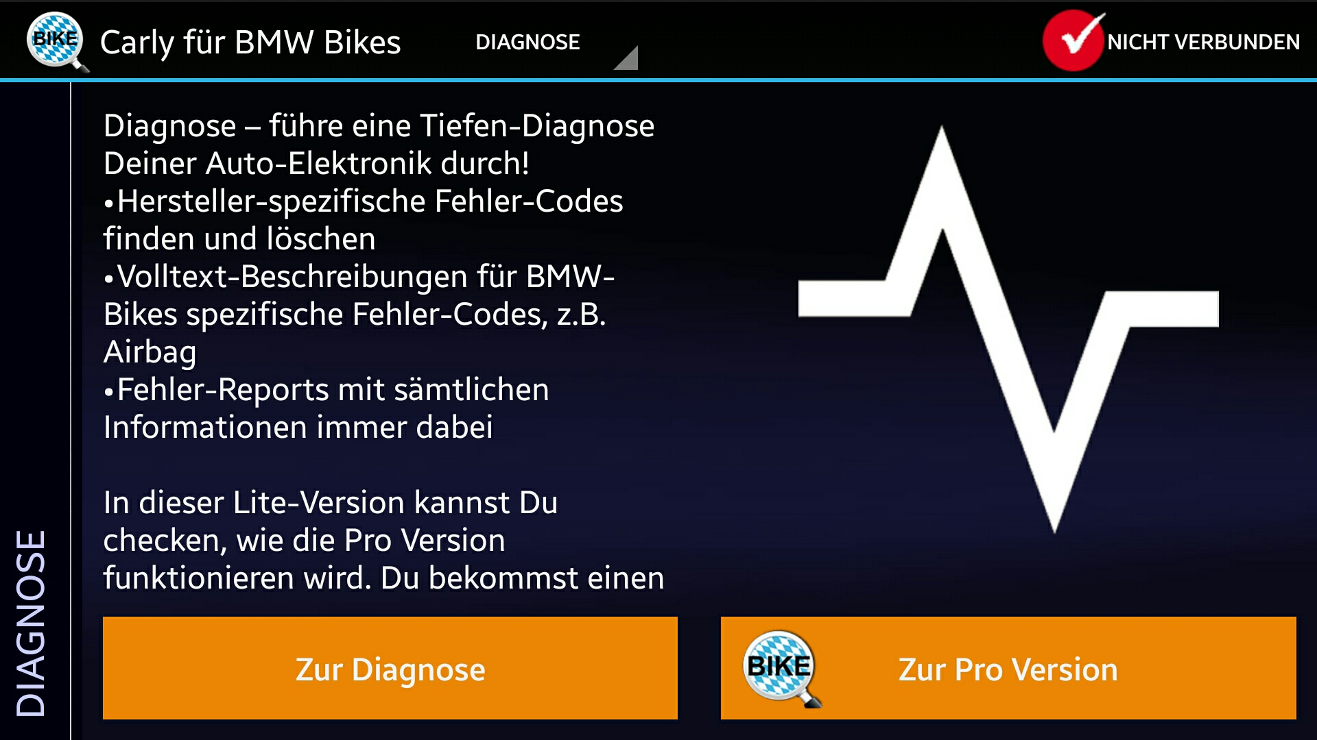 li il bmw motorrad diagnose leicht selbst gemacht. Black Bedroom Furniture Sets. Home Design Ideas