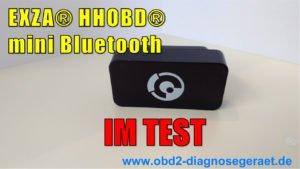 XZA HHOBD Mini-TEST